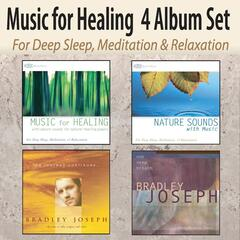 Music for Healing 4 Album Set: Healing Music, Nature Sounds With Music, The Journey Continues, One Deep Breath for Deep Sleep, Meditation, & Relaxation