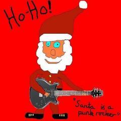 Santa Is a Punk Rocker