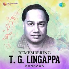 Remembering T.G. Lingappa