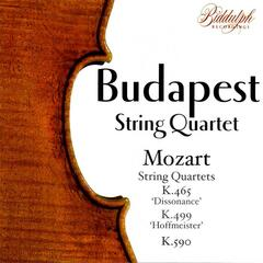 The Budapest String Quartet Plays Mozart