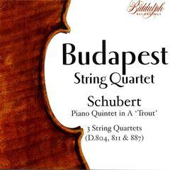 The Budapest String Quartet Plays Schubert