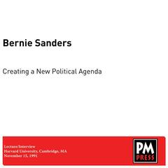 Creating a New Political Agenda