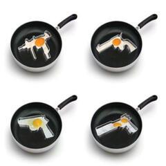 Gun Shaped Eggs