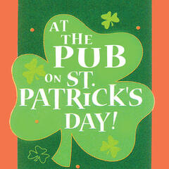 At the Pub on St. Patrick's Day