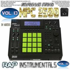 Mpc 2500 Rap Instrumentals, Vol. 13