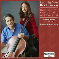 Beethoven Sonatas for Violoncello and Piano 1-5