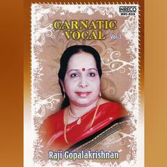 Carnatic Vocal, Vol. 3