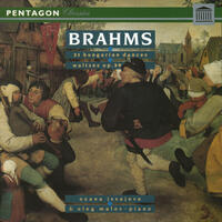 Brahms: 21 Hungarian Dances for Piano Four Hands - 16 Waltzes for Two Pianos
