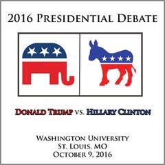 Presidential Debate 2016 #2 - Washington University, St. Louis, Mo - October 9, 2016
