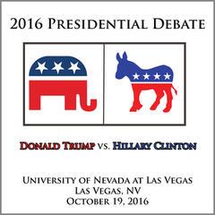 Presidential Debate 2016 #3 - University of Nevada at Las Vegas - October 19, 2016