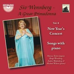 "Siv Wennberg: A Great Primadonna, Vol. 8 ""New Year's Concert"""