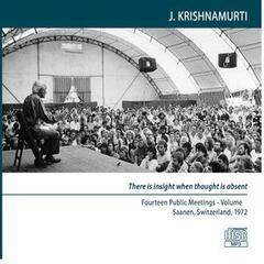 Fourteen Public Meetings, Saanen, Switzerland, 1972 - Volume 2
