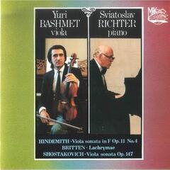Hindemith & Shostakovich: Viola Sonatas