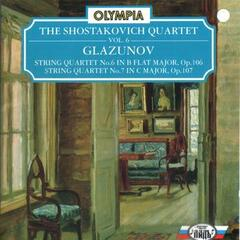 Glazunov: String Quartet No. 6, Op. 106 & No. 7, Op.107