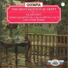 Glazunov: String Quartet No. 3, No. 5 & Other Works