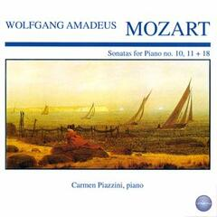 Mozart: Sonatas for Piano No. 10, 11 + 18