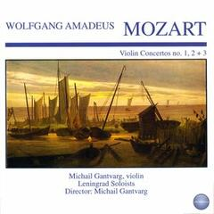 Mozart: Violin Concertos No. 1, 2 + 3