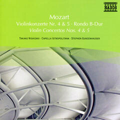 Mozart: Violin Concertos Nos. 4  and 5 / Rondo