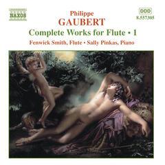 Gaubert:  Works for Flute, Vol. 1