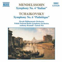 MENDELSSOHN: Symphony No. 4 / TCHAIKOVSKY: Symphony No. 6, 'Pathetique'