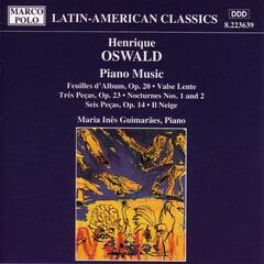 Oswald: Piano Music