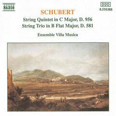 Schubert: String Quintet in C Major / String Trio in B-Flat Major