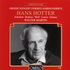 Schubert, Brahms & Strauss: Lieder (Live)