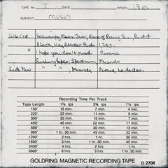 Lasseter's Gold (Unreleased Demos)