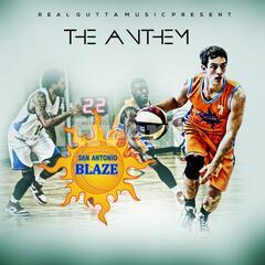 San Antonio Blaze the Anthem