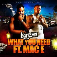 What You Need (feat. Mac E)