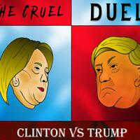 The Cruel Duel, Clinton vs Trump