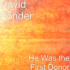 He Was the First Donor