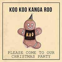 Please Come to My Christmas Party