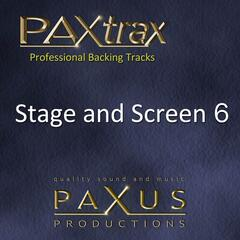 Paxtrax Professional Backing Tracks: Stage and Screen 6