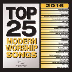 Top 25 Modern Worship Songs 2016
