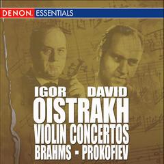 Brahms: Concerto for Violin & Orchestra, Op. 77 - Prokofiev: Concerto for Violin & Orchesta, Op. 19