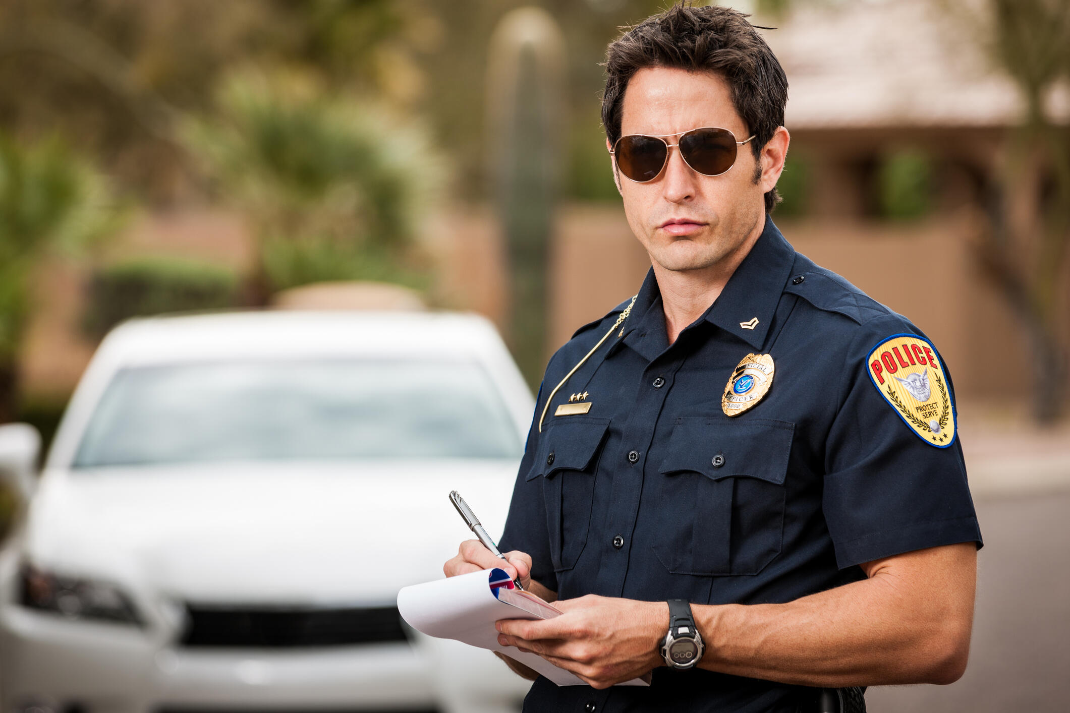 Fighting a Traffic Ticket: Get the Officer's Notes