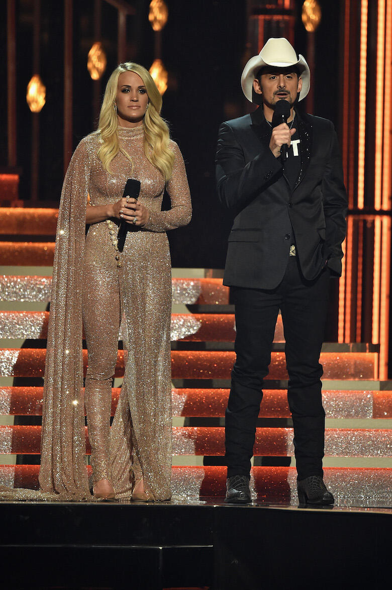 All Of Carrie Underwood S 2017 Cma Awards Outfits Photos