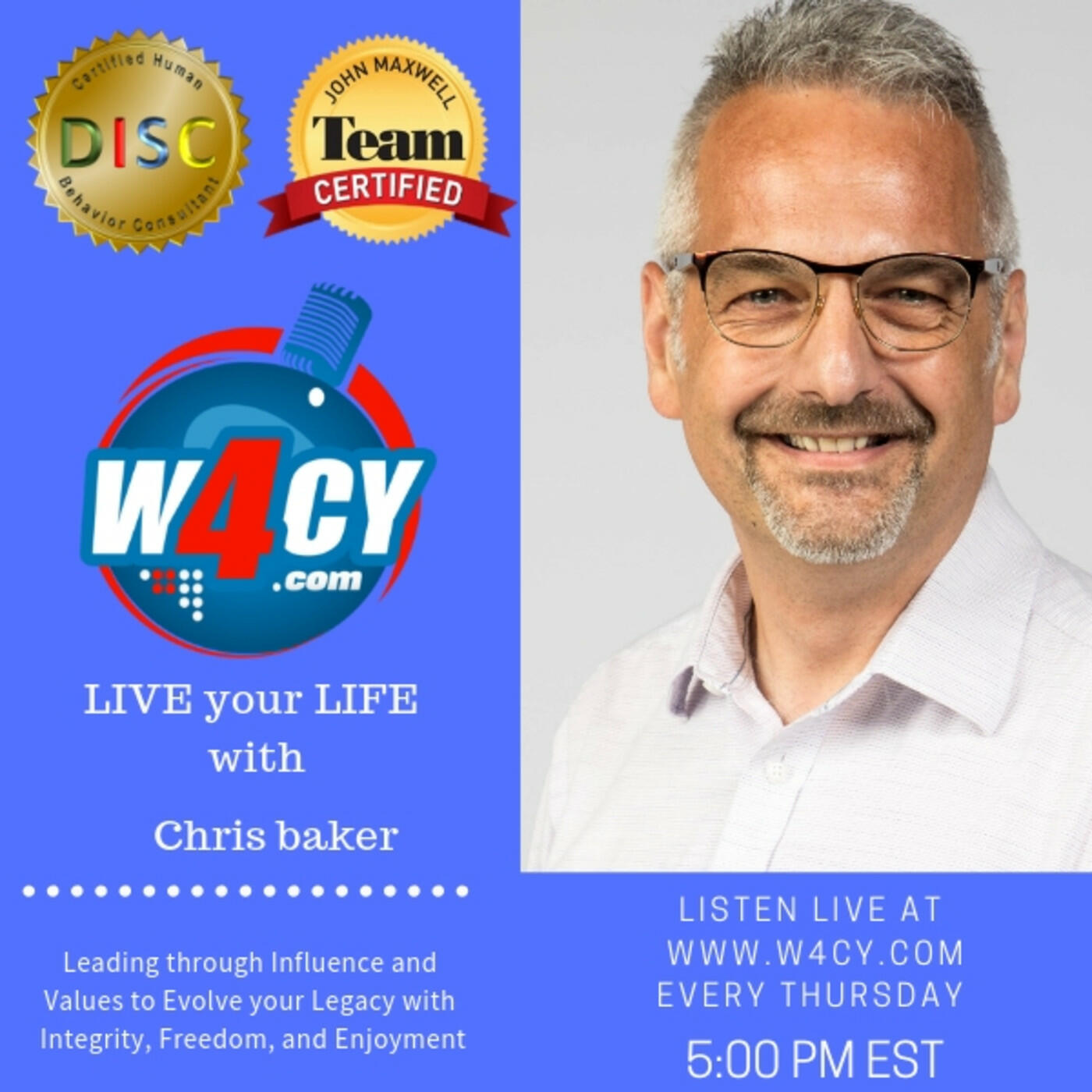 Listen to Ann interview with Njeru Nthigah | LIVE your LIFE with Chris Baker | Podcasts