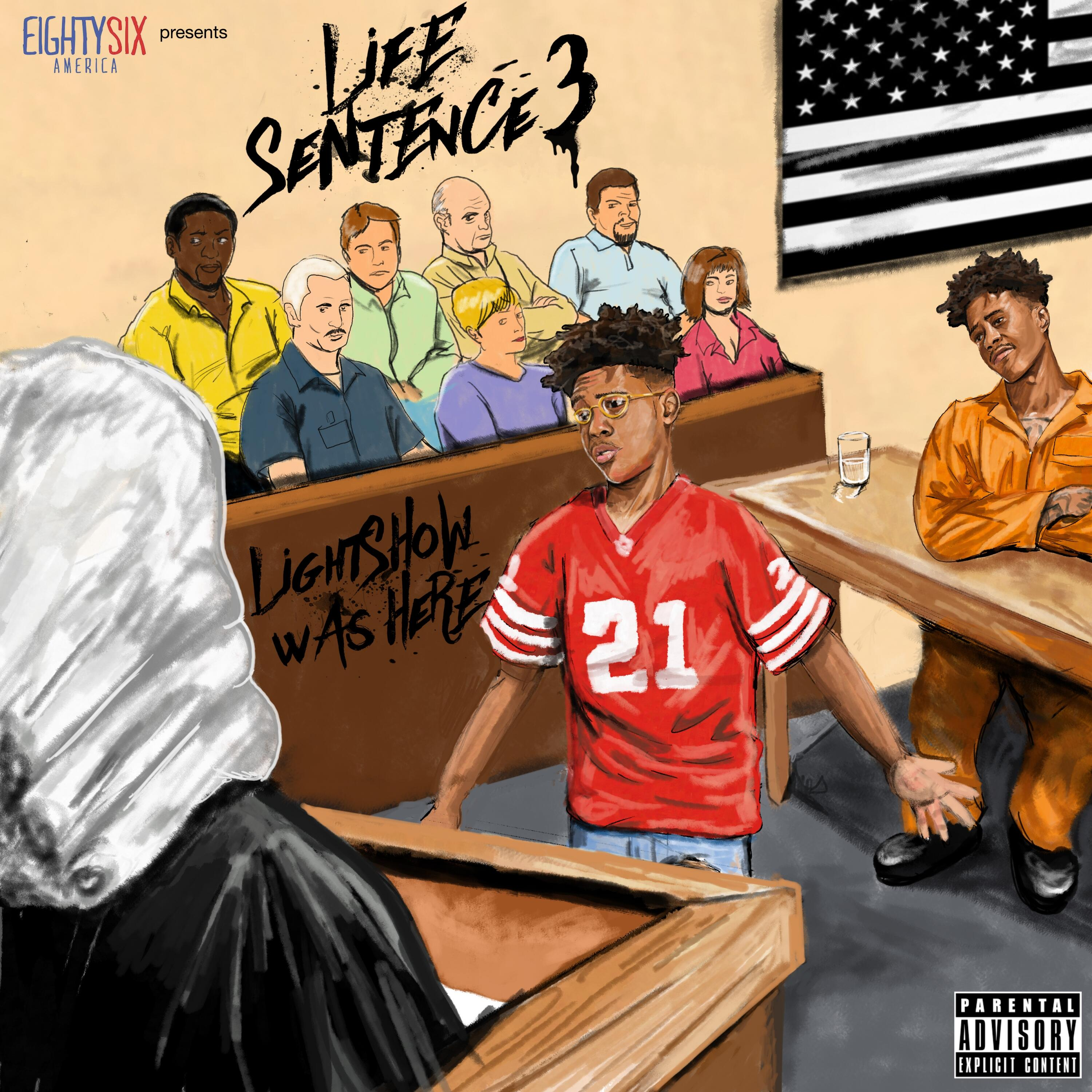 Life Sentence Mixtape by Lightshow Hosted by Tha Republic   Lightshow Life Sentence