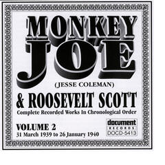 Monkey Joe Vol. 2 (1939-1940) inc. Roosevelt Scott