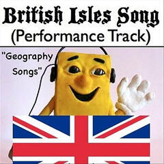 British Isles Song (Performance Track) [Geography Songs]