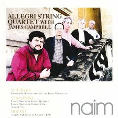 Allegri String Quartet With James Campbell