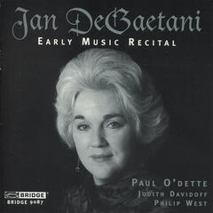 DeGaetani: Early Music Recital
