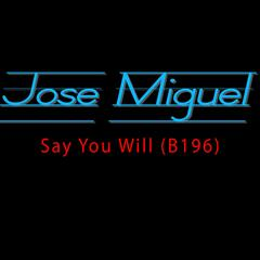 Say You Will (B196) [feat. JMisNYC]