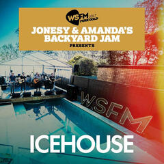 Jonesy & Amanda's Backyard Jam Presents ICEHOUSE EP album art