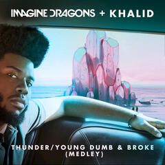 Thunder / Young Dumb & Broke album art