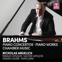 Brahms: Piano Concertos, Piano Works & Chamber Music album art
