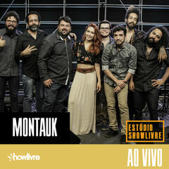 Montauk no Estúdio Showlivre (Ao Vivo) album art