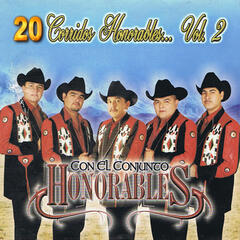 20 Corridos Honorables, Vol. 2 album art